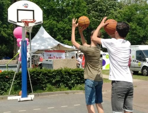 Basketbalvereniging Dedein op Didam op stelten