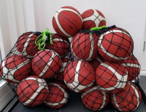 Nieuwe buitenbasketballen!