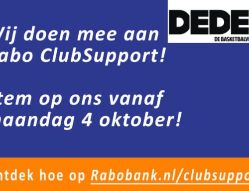 Stem op ons bij de Rabo Club support!